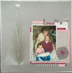Christmas Love - created for Crafty Maven Getaway YouTube channel