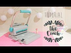 TUTORIAL uso de la CINCH básico en dos tamaños - YouTube