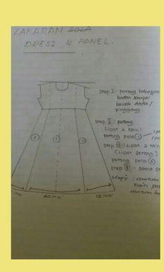 Dress 4 panel
