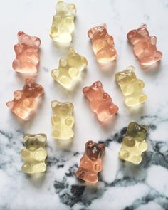 champagne gummy bears - perfect for gifts or just to spice up your life