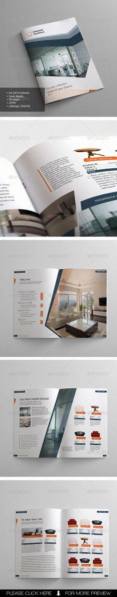 Furniture Catalogue - GraphicRiver Item for Sale
