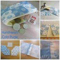 Hand Sewn Coin Purse