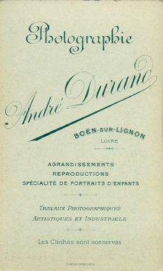 DURAND A. - Boën-sur-Lignon, Loire (ebay)