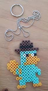 """Képtalálat a következőre: """"perler beads pendant for kids"""""""