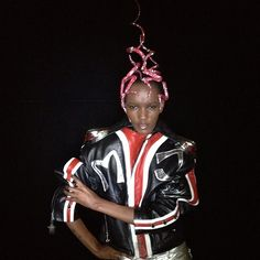 Herieth@select in Phillip Treacy and Michael Jackson. 16th September 2012