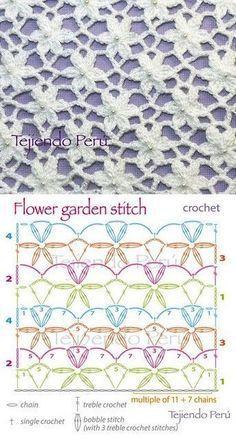 Pontos em mais pontos de crochê que você vai amar saber. São 95 Pontos Extravagantes e muito lindos Em Croch