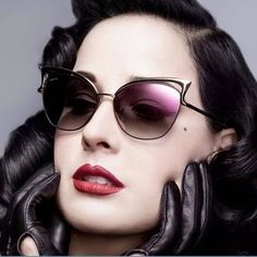 Cat eye sunglasses with gradient lens. UV400 protection. Visit us at https://gottasoul.com/collections/sunglasses/products/vintage-designer-twin-beam-mirror-cat-eye-sunglasses?platform=hootsuite
