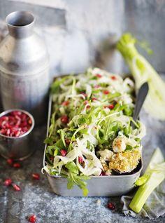 Kvinoabroileri ja fenkolisalaatti - ruoka&viini