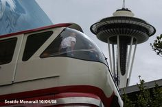 Monorail in Seattle Washington