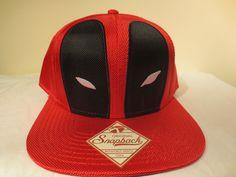 Deadpool Hat Cap Snapback Marvel Comics Costume Cosplay Comics Trucker Hat #Deadpool #BaseballCap