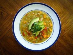 Southwestern vegan soup.