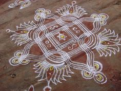 Kolam for Pradhosham
