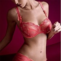Brand: Empreint - Paris, a seductive, bold and cheerful range in a deliciously summery Coral color. Book your appointment with them today: http://www.curvexpo.com