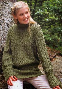 Irina: aran knitting