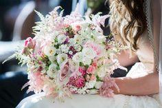 decoración de boda en rosa empolvado - Bodas en All Lovely Party