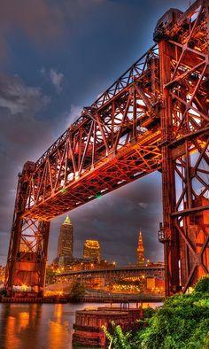Conrail Bridge, Cleveland, OH