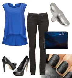 Black and blue party style