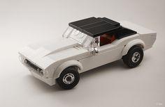 Camaro dragster LEGO