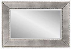 Visby Wall Mirror, Antiqued Silver on OneKingsLane.com