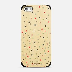 CONFETTI, wooden phone case. Make yours and get $10 off using code: P4XKAI