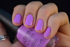 """Love At First Lavender, from Sation's Limited Collection, """"California Gleamin'""""  Yummy summer color!"""