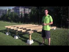 How to Build Deck Footings with QUIKRETE® - YouTube