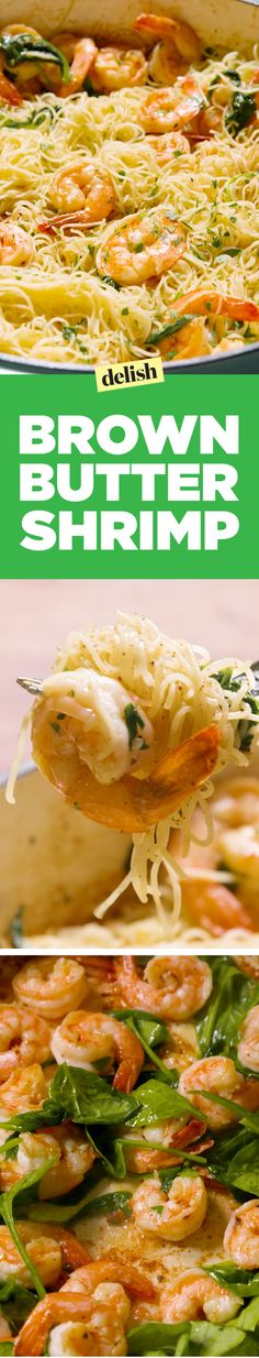 Brown-Butter Shrimp  - Delish.com