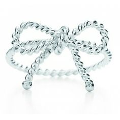 My favorite jewelry, Tiffany Rings Tiffany Twist Bow Ring