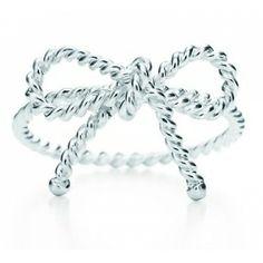 My favorite jewelry, Tiffany Rings Tiffany Twist Bow Ring