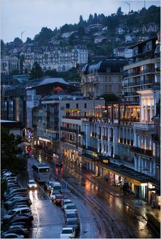 The Grand Rue. Montreux.