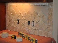Kitchen Backsplash Tile Types Cabinet Color Picker Pull Down Faucet Ikea Double Sink White Maytag Mer5775q