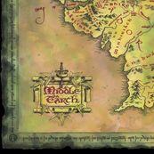 Alternate Middle Earth Map by walkingraven1