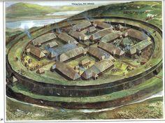 Viking Fort,950-1000 AD.