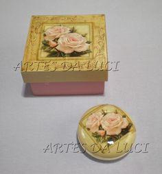 Artes da Luci: pap decoupagem sabonetes