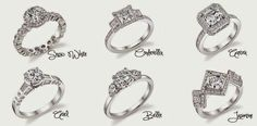 Princess Promise Rings