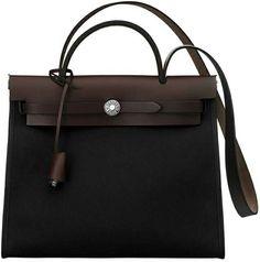hermes knockoff - Hermes 32cm Black Veau Graine Lisse Leather Sellier Kelly Bag With ...