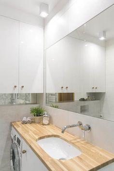 Mała łazienka o dużych możliwościach: styl , w kategorii Łazienka zaprojektowany przez IDeALS   interior design and living store