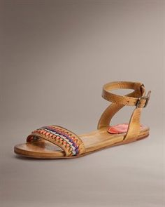 JACEY TWISTED ANKLE STRAP