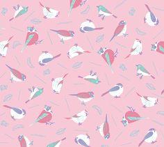鳥と葉っぱと