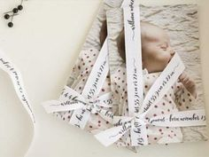 Un faire-part créatif ruban