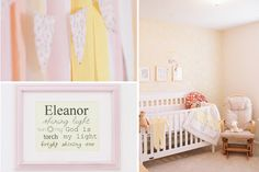 Cute yellow decor and pink decor