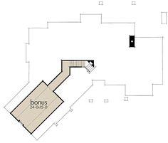 Superb Craftsman with Bonus Room Expansion - 16896WG | Architectural Designs - House Plans