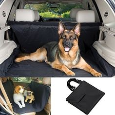 Radient Waterproof Dog Cargo Liner Safety Hammock Pet Dog Cat Carriers Mat Cover Boot Car Back Seat Protector Cushion Pad Car Anti-dirty Pad Automobiles & Motorcycles