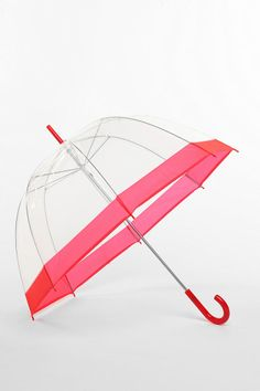 I have been looking for a clear umbrella foreeeeeeever!    Bubble Umbrella  #UrbanOutfitters