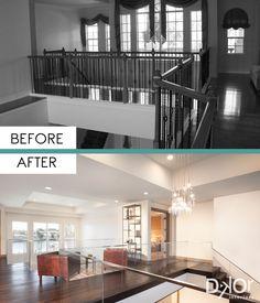 Contemporary Comfort - Residential Interior Design Project in Fort Lauderdale, Florida #BeforeandAfter #Remodel #InteriorRemodel