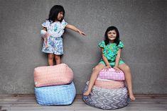 Duduk - Dutch Design, Made in Bali - KidStyleFile Plush Animals, Storage Baskets, Kids Rooms, Shades Of Blue, Clutter, Pink Grey, Mint Green, Cool Kids, Dutch