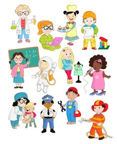 yrken3 Teacher Education, School Teacher, Baby Barn, Writing Words, Community Helpers, Sight Words, Flower Prints, Social Studies, Preschool