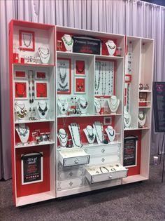 Necklace Display Stand, Jewelry Display Stand, Necklace Display Holder, Jewelry display for craft show - Custom Jewelry Ideas Jewelry Booth, Jewelry Show, Jewelry Armoire, Jewelry Holder, Jewelry Stand, Necklace Holder, Diy Jewelry, Geek Jewelry, Fall Jewelry