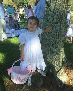 Maddie love her Mela Wilson Heirloom dress (style 52WE)