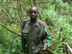 RIP Esdras Nsengiyumva | Very sad news, on Dec. 2, 2012, one of the Dian Fossey Gorilla Fund International's anti-poaching camps near Volcanoes National Park was attacked, & a member of the anti-poaching team was killed by gunfire. Esdras Nsengiyumva began working with Fossey Fund in March 2009 as a tracker in Titus' group.  His very high score on the recruitment exam proved to be a good indicator of the dedicated and talented tracker he would become.